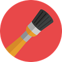 Art, Painting, Brushes, Painter, paint brush, Artist, Tools And Utensils, Edit Tools, Art And Design Tomato icon