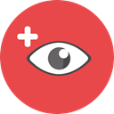 Edit Tools, interface, Eye, visible, Visibility, view, medical Tomato icon
