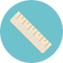 Edit Tools, Measuring, tools, ruler, Tools And Utensils MediumAquamarine icon