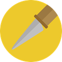 Cut, Cutting, cutter, Blade, Tools And Utensils, Edit Tools Goldenrod icon