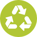 Arrows, Arrow, nature, Container, recycling, symbol, environment, signs, Ecology And Environment YellowGreen icon