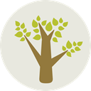 Tree, nature, garden, gardening, ecology, yard, Botanical Gainsboro icon