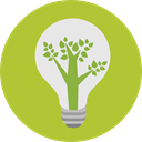technology, invention, Ecology And Environment, Light bulb, Idea, electricity, illumination YellowGreen icon