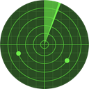 radar, place, Area, technology, electronics, Positional DarkSlateGray icon
