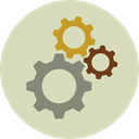 Gear, Tools And Utensils, settings, miscellaneous, configuration, cogwheel LightGray icon