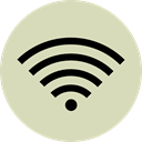 electronics, signs, Wifi, wireless, interface, technology, internet, Multimedia, Computer, Connection LightGray icon