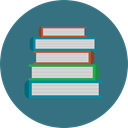 education, reading, study, Book, Books, Library, Literature SeaGreen icon