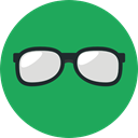vision, eyeglasses, fashion, reading glasses, Ophthalmology, Glasses, optical SeaGreen icon