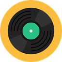 Multimedia, music, record, Music And Multimedia, Audio, vinyl, musical, Long Play SandyBrown icon