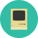 Multimedia, Apple, Computer, Device, technology, electronic, Macintosh LightSeaGreen icon