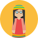 people, Avatar, Culture, Rasta, Cultures SandyBrown icon
