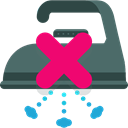 Clean, wash, washing, Laundry, signs, Shapes And Symbols, No Ironing DimGray icon