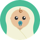 people, Human, baby, newborn, Motherhood, Kid And Baby Beige icon