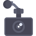 Camera, photo, photograph, photo camera, photography, technology, electronics DarkSlateGray icon