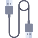 Usb, Cable, Connection, technology, port, electronics, Usb Cable Black icon