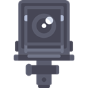 photography, technology, electronics, Antique, vintage, Photographer, photograph, photo camera DarkSlateGray icon