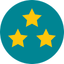 star, Favorite, Stars, Favourite, Shapes And Symbols, rate, rating, shapes, signs DarkCyan icon