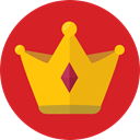 Royalty, Chess Piece, miscellaneous, king, crown, Queen Crimson icon