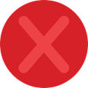 prohibition, signs, Shapes And Symbols, Close, cancel, Error, cross, forbidden, interface Crimson icon