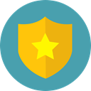 security, Antivirus, shield, defense, secure CadetBlue icon