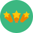 shapes, signs, Shapes And Symbols, star, Favorite, Stars, Favourite, interface, rate, rating MediumSeaGreen icon