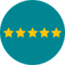 star, Favorite, Stars, Favourite, rate, rating, shapes, signs, Shapes And Symbols DarkCyan icon