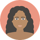 Face, medical, Female, Masks, spa, treatment, Feminine, woman, Mask, Beauty, Women DarkSalmon icon