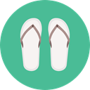 Summertime, Flip flop, fashion, sandals, footwear, flip flops CadetBlue icon