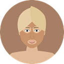 Face, medical, Female, Masks, spa, treatment, Feminine, woman, Mask, Beauty, Women Gray icon