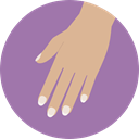 Hand, Beauty, treatment, manicure RosyBrown icon