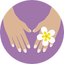 Hand, Beauty, treatment, manicure Icon