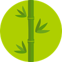 plant, nature, Bamboo, Botanical, japan YellowGreen icon