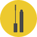 Beauty, mascara, fashion, Grooming, Beauty Salon Goldenrod icon