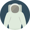 people, user, Avatar, job, space, Astronaut, galaxy, profession, Occupation, Aqualung Gainsboro icon
