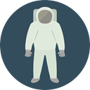 people, Avatar, job, space, Astronaut, galaxy, profession, Occupation, Aqualung DarkSlateGray icon