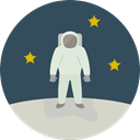 profession, Occupation, Aqualung, people, Avatar, job, space, Astronaut, galaxy DarkSlateGray icon
