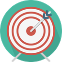 Target, objective, Archery, weapons, archer, Seo And Web, Arrows, Arrow, sport CadetBlue icon