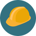 Safe, helmet, equipment, Construction, Tools And Utensils, Construction And Tools SeaGreen icon