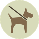 dog, pet, Animals, Routine, Walking The Dog LightGray icon