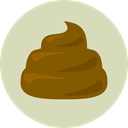 Animal, pet, Animals, poo LightGray icon
