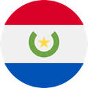 world, flag, Paraguay, flags, Country, Nation WhiteSmoke icon
