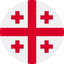 world, flag, Georgia, flags, Country, Nation WhiteSmoke icon