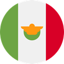 world, flag, Mexico, flags, Country, Nation WhiteSmoke icon