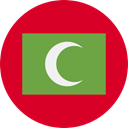 world, flag, Maldives, flags, Country, Nation Crimson icon