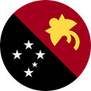 Nation, Papua New Guinea, world, flag, flags, Country DarkRed icon