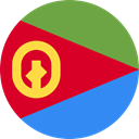 world, flag, Eritrea, flags, Country, Nation Crimson icon