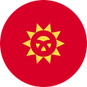 world, flag, Kyrgyzstan, flags, Country, Nation Crimson icon