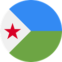 world, flag, Djibouti, flags, Country, Nation OliveDrab icon