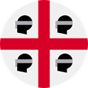 Nation, Sardinia, world, flag, flags, Country WhiteSmoke icon