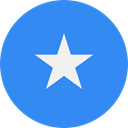 flags, Country, Nation, world, flag, Somalia DodgerBlue icon